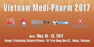 Triển lãm Quốc tế chuyên ngành Y dược lần thứ 24 năm 2017 VIETNAM – MEDIPHARM 2017