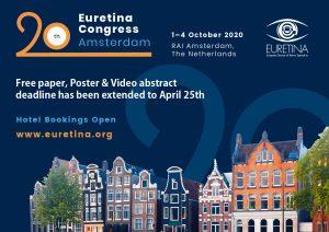Hội nghị EURETINA lần thứ 20 – Thông báo về hội nghị trực tuyến