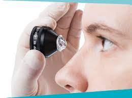 Gel đặt kính nội soi góc mắt